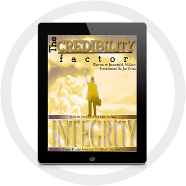 The Credibility Factor Integrity on an iPad
