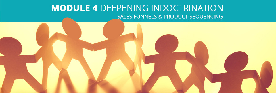 Module 4 Deepening Indoctrination - Sales Funnels & Product Sequencing